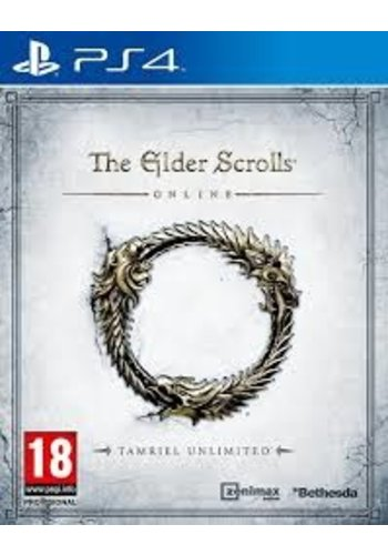 PS4 The Elder Scrolls Online: Tamriel Unlimited - PS4