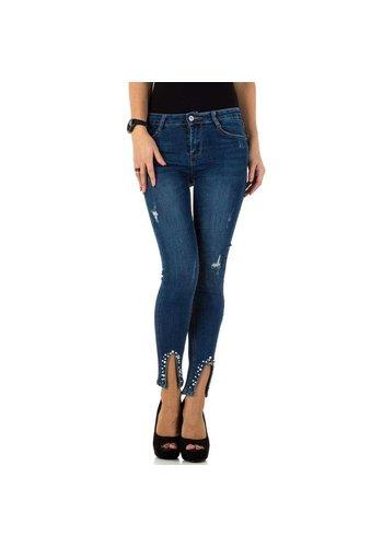 Neckermann dames jeans blauw KL-J-T772-blue