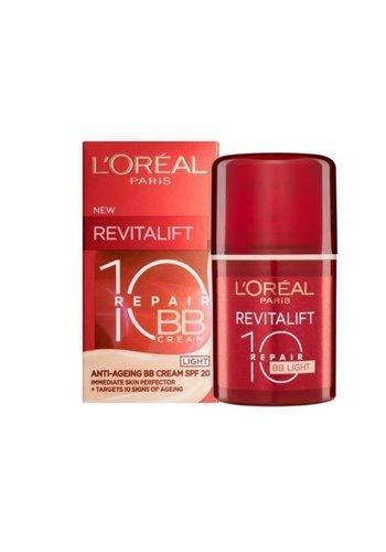 L'OREAL Anti-rimpel Dagcreme Revitalift 10 Repair Light 50ml