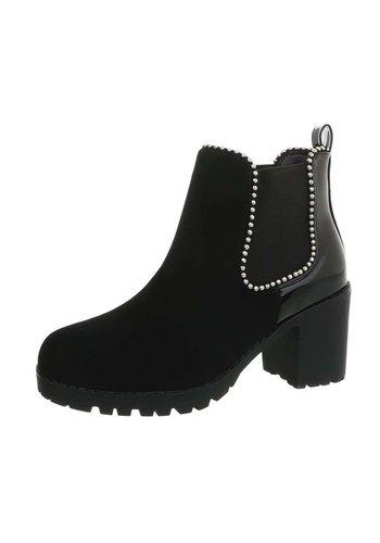 Neckermann Damen Chelsea Stiefel schwarz W357