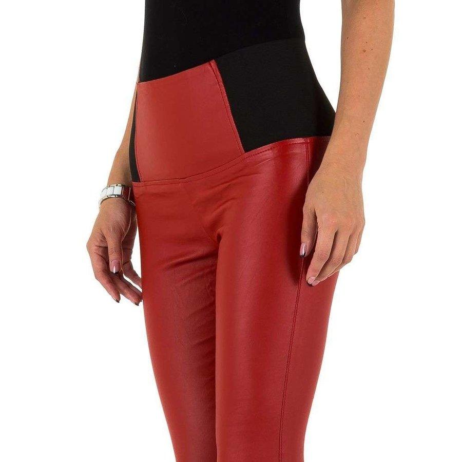 dames broek rood KL-DP1098
