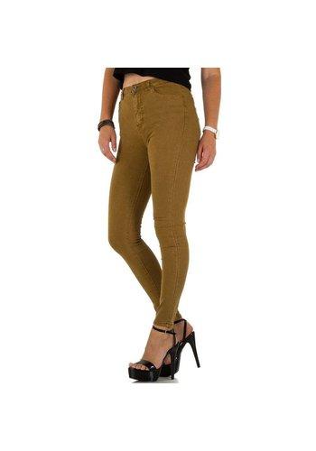 Neckermann dames jeans bruin KL-J-HN37-C