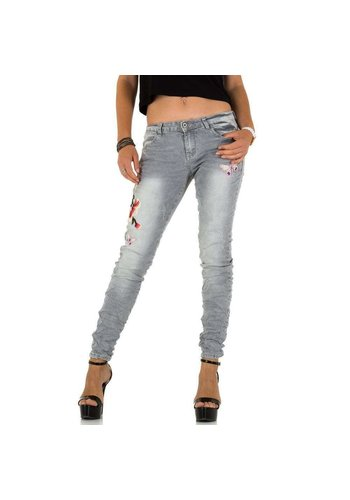 Neckermann dames jeans grijs KL-J-92905