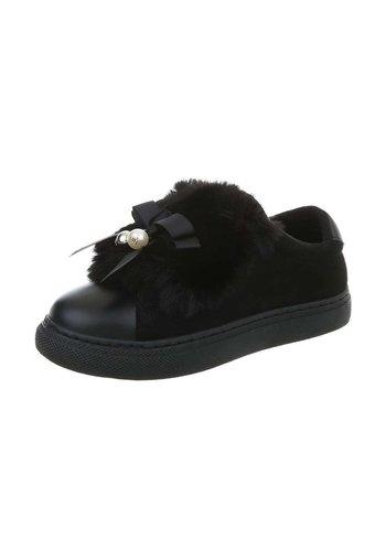 Neckermann dames sneakers zwart KK-99-1