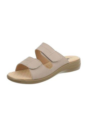 Neckermann dames sandalen beige 88-31