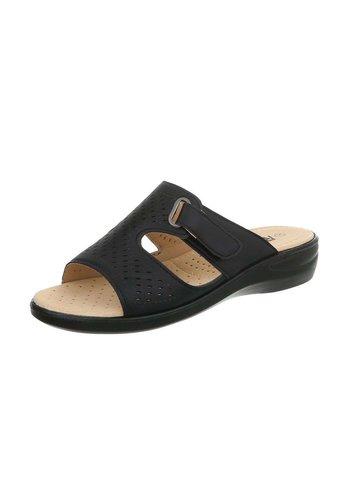 Neckermann sandales femmes noires 88-29