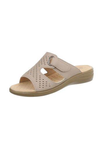 Neckermann dames sandalen beige 88-29
