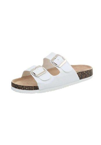Neckermann sandales femmes blanches BY0002