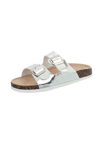 Neckermann sandales pour femme argent BY0002