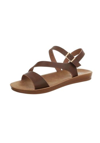 Neckermann sandales flash femme marron D-35