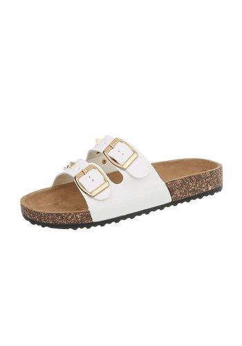 Neckermann dames sandalen wit BL682-SF