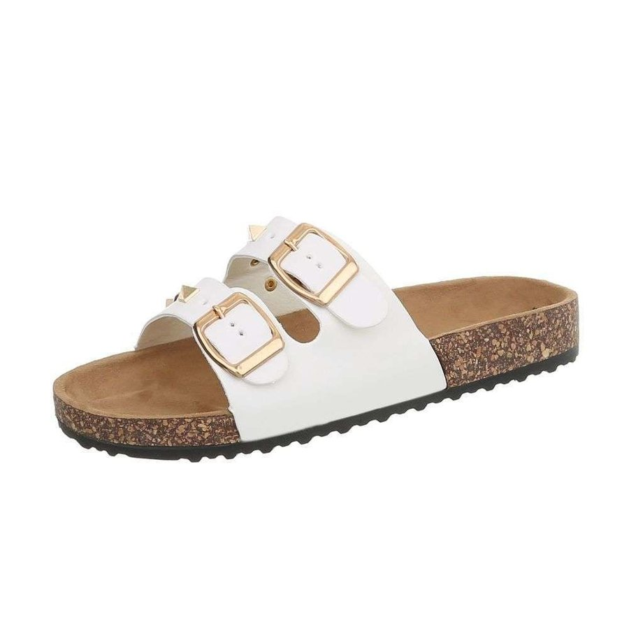 sandales femmes blanches BL682-SF