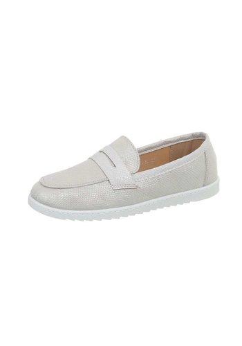 Neckermann dames pantoffel grijs BH1240-BL
