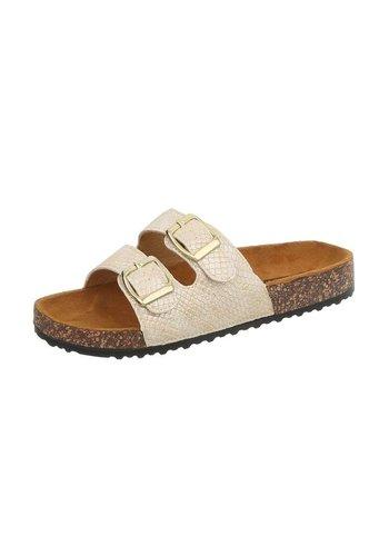 Neckermann Dames sandalen goud BL681-SF