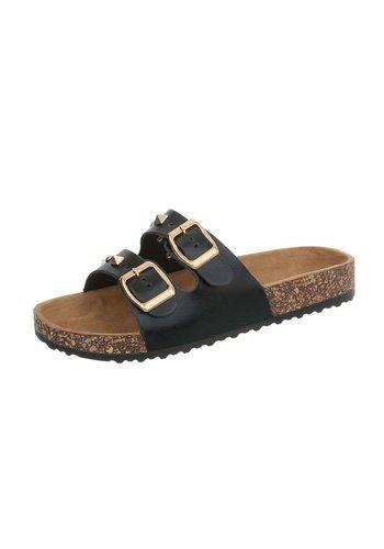 Neckermann sandales pour femmes noir BL682-SF