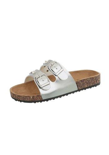 Neckermann Dames sandalen zilver BL682-SF