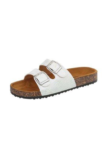 Neckermann Dames sandalen zilver BL681-SF