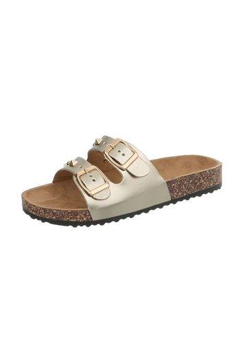 Neckermann Dames sandalen goud BL682-SF