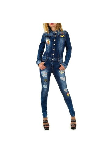 Neckermann dames partout denim bleu KL-A686