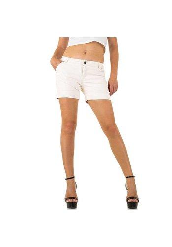 Neckermann short femme blanc