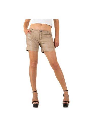 Neckermann short femme beige