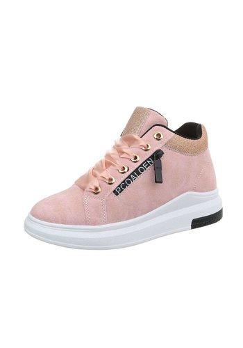 Neckermann Damen Sneakers high - pink