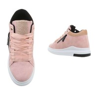 Damen Sneakers high - pink