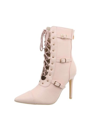 Neckermann bottines hautes dames rose