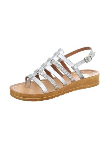 Neckermann dames - sandales flash - argent