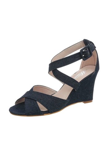 Neckermann Dames sandalette bleu