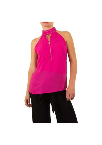 Neckermann chemisier dames fuchsia
