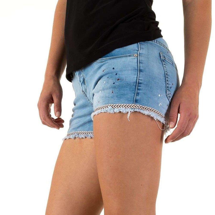 dames korte spijkerbroek  realtyjeans