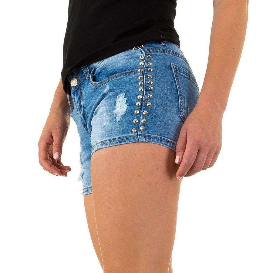 Damen kurze Jeans Immobilien Jeans