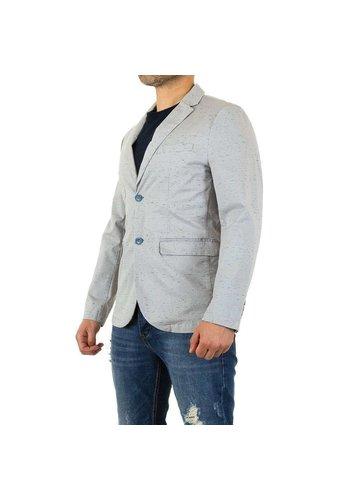 Neckermann Veste pour hommes par Y.Two Jeans - gris