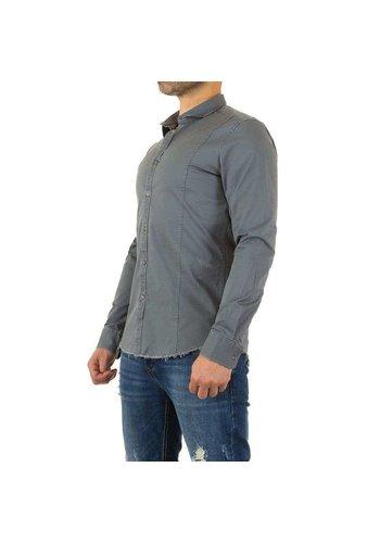Neckermann Chemise pour homme par Y.Two Jeans - gris
