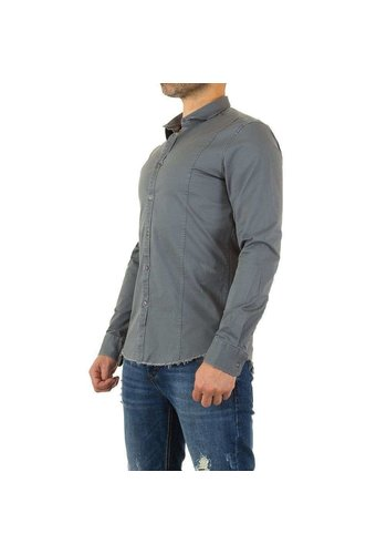 Neckermann Herrenhemd von Y.Two Jeans - grau