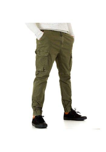 Neckermann Herenbroek van Y.Two Jeans - groen