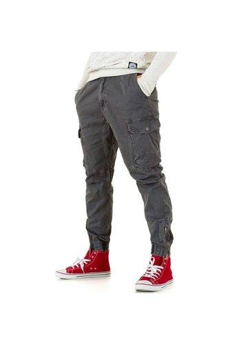Neckermann Pantalon pour Homme par Y.Two Jeans - D.gray
