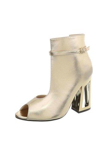 Neckermann Dames schoen met Hak Licht goud