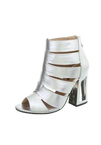 Neckermann Dames schoen met Hak Zilver