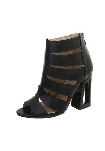 Neckermann Dames Open  schoen met Hak Zwart