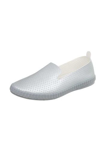 Neckermann Damen Slip-On - Silber