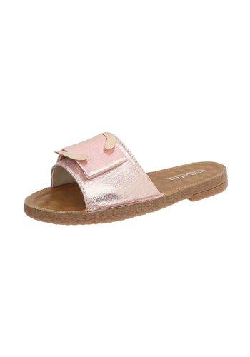 Neckermann Dames platte sandalen - roze