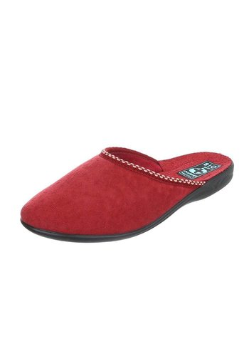 Neckermann Chaussons Femme - Rouge