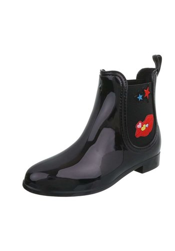 Neckermann Dames rubberen laarzen - zwart