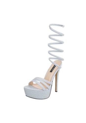 Neckermann Ladies Open Schuh - mit Heel Silver