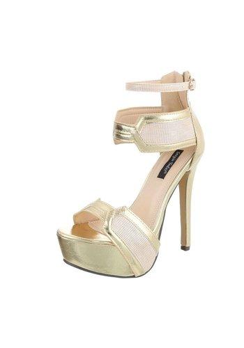 Neckermann Ladies Open Schuh - mit Heel Gold