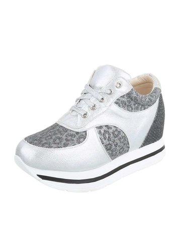 Neckermann Dames casual schoenen - zilver