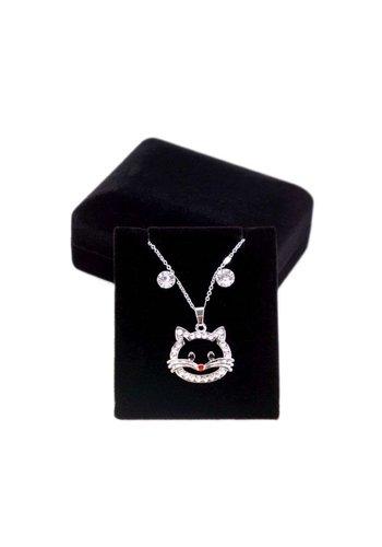 Neckermann Damen Halskette-silver