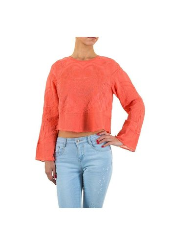 Neckermann Dames blouse-of-zo-Sweet-koraal